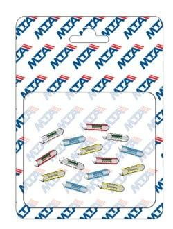 BLISTER 20 CONTINENTAL FUSES DIN ( Conf. 1 Pz )